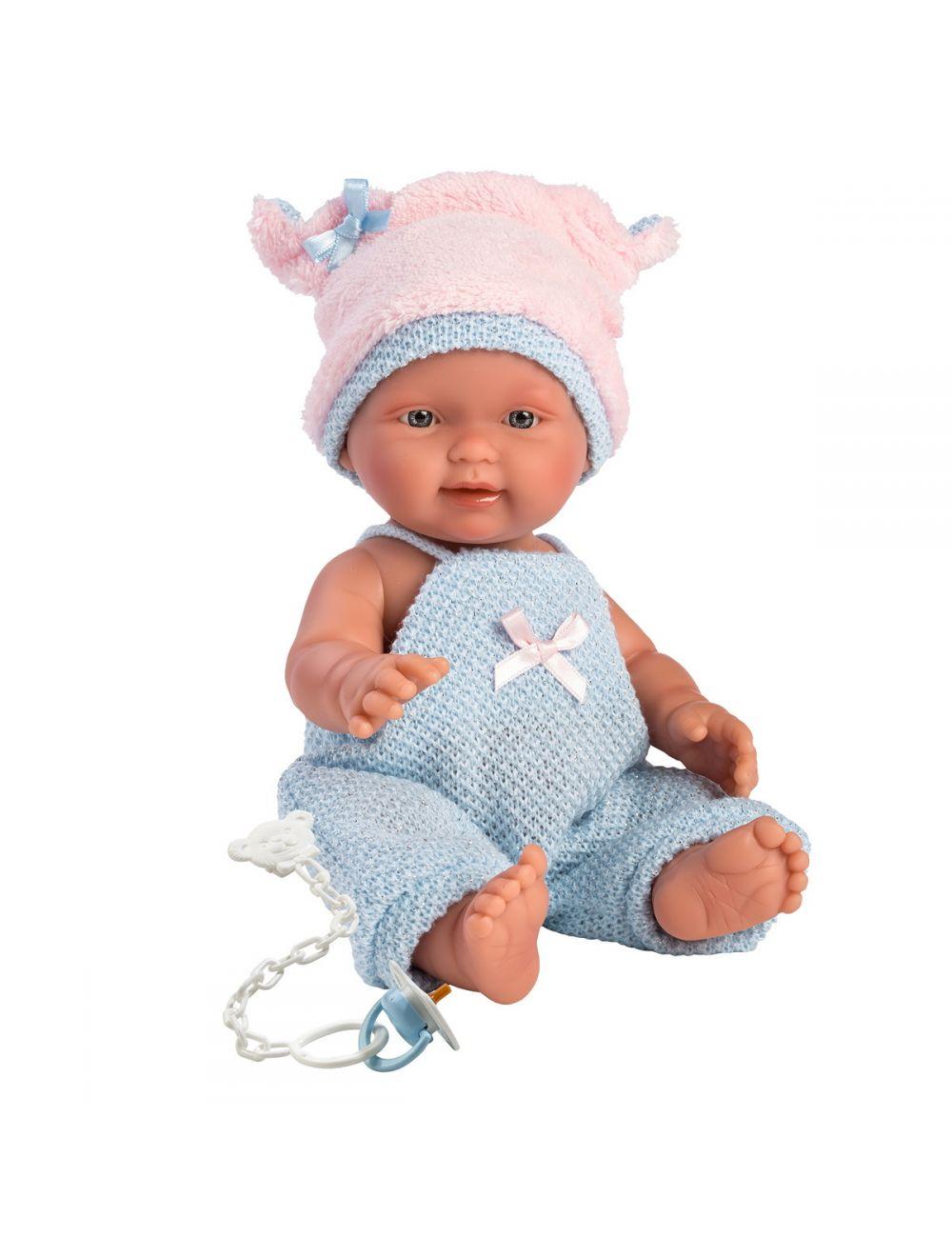 Llorens 26275 Lalka bobas Bebito 26 cm chłopiec świnka FB