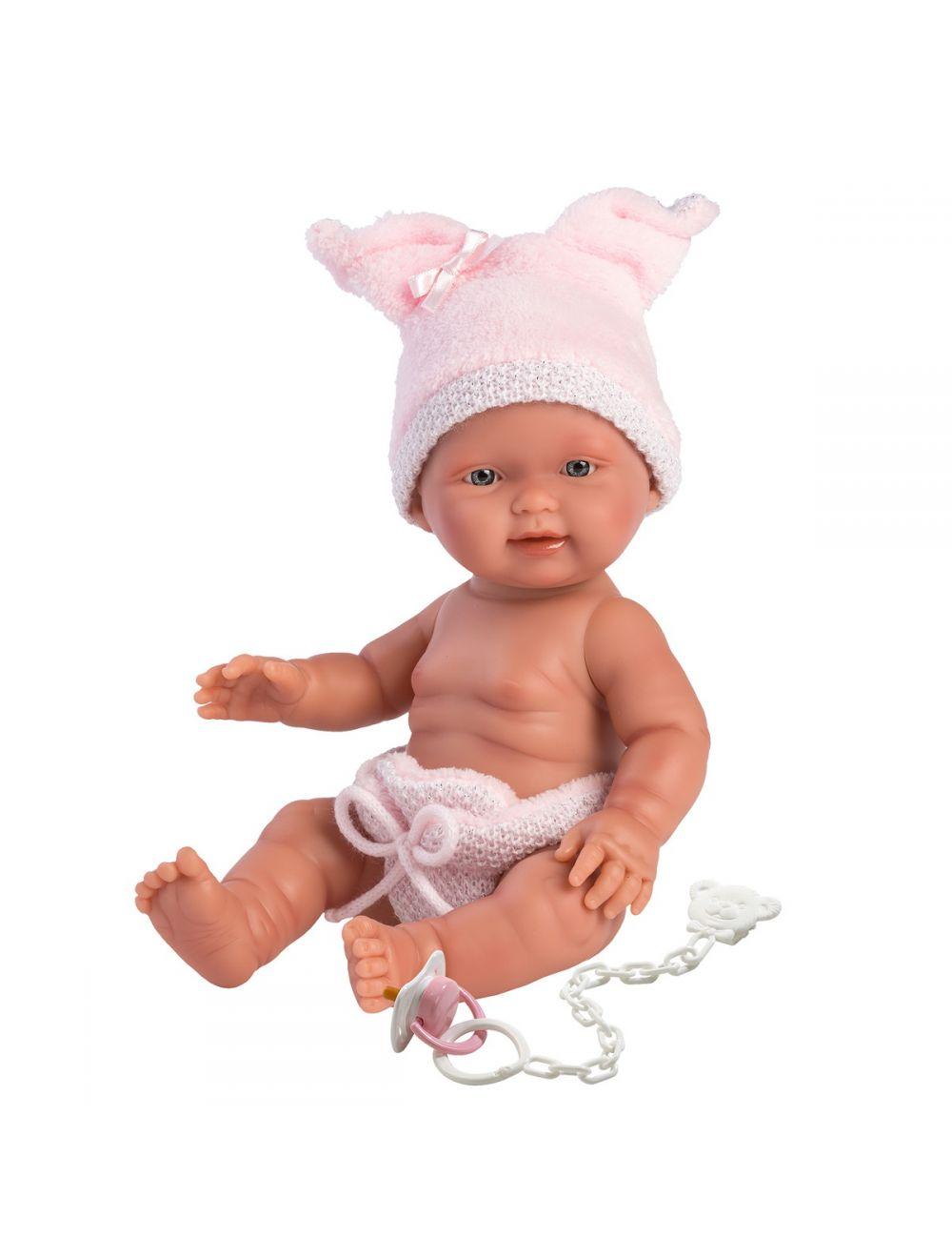 Llorens 26276 Lalka bobas Bebita 26 cm dziewczynka świnka FB