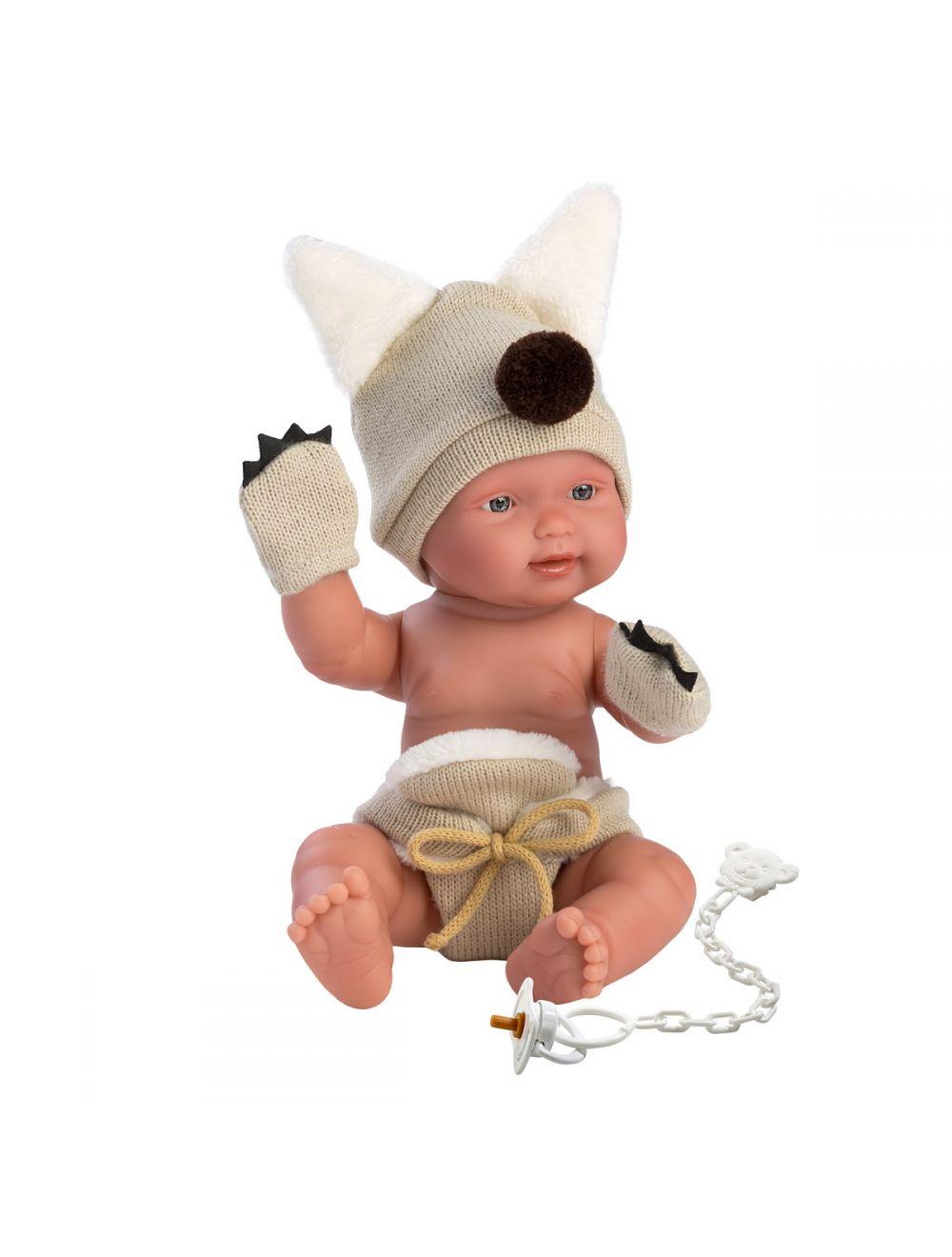 Llorens 26279 Lalka bobas 26cm chłopiec wilczek FB