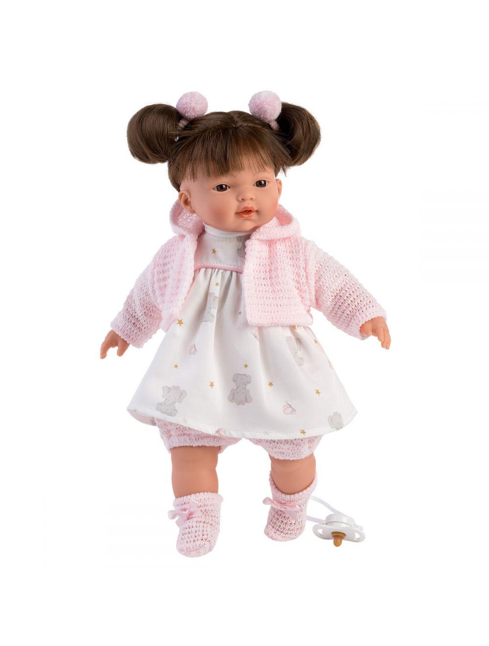 Llorens 33134 Lalka Płacząca lalka Vera 33 cm