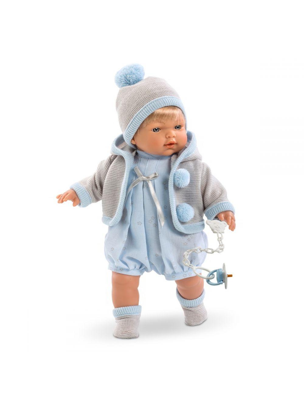 LLORENS lalka płacząca Roberto 33 cm