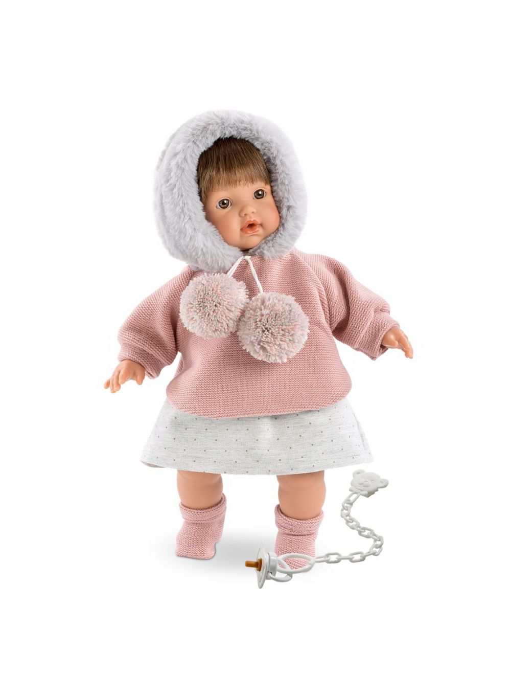 LLORENS lalka płacząca Aysel 33 cm