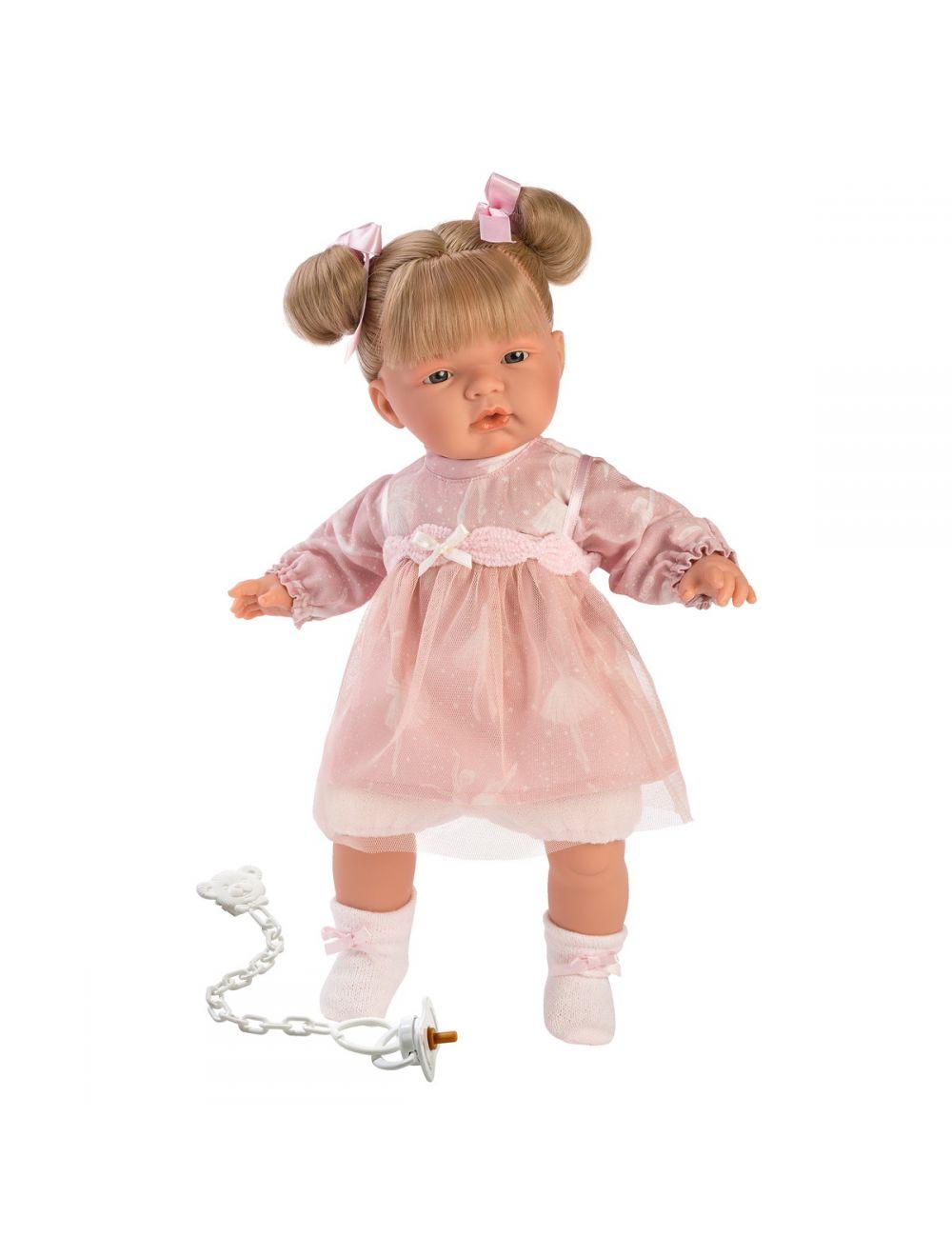 Llorens 38336 Lalka płacząca Joelle 38 cm baletnica