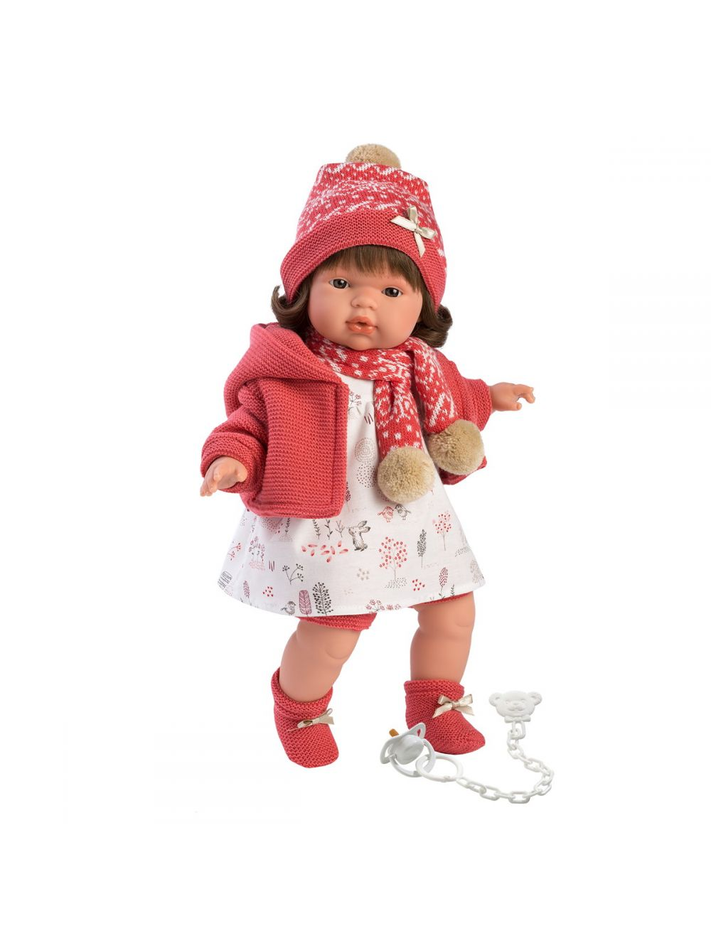 Llorens 38558 Lalka płacząca Lola 38 cm