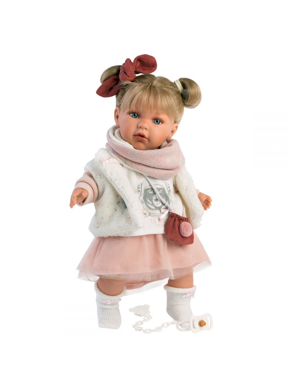 Llorens 42402 Lalka Płacząca lalka Julia 42 cm