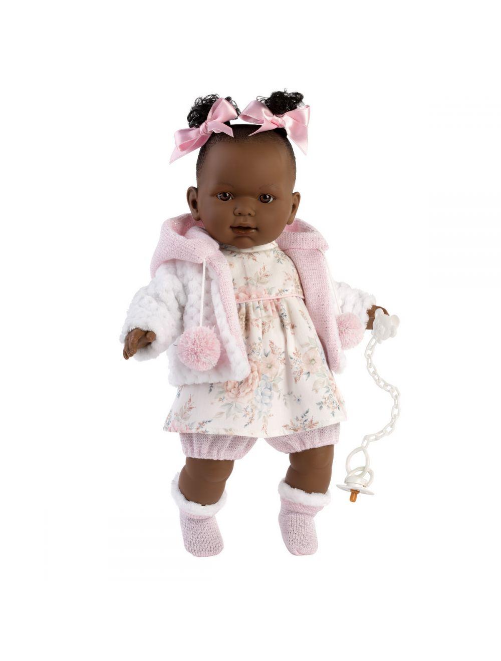 Llorens 42644 Lalka Płacząca lalka Nicole 42 cm