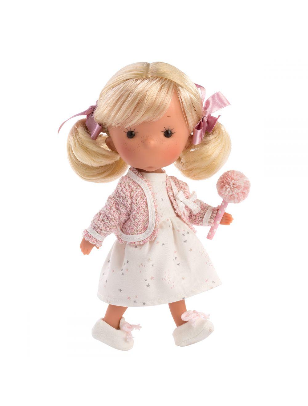 Llorens 52602 Lalka Miss Minis Miss Lili Queen Lalka blondynka 26 cm
