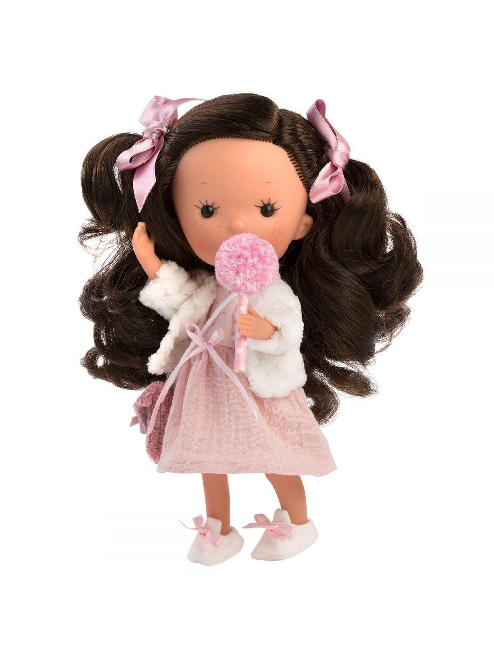 Llorens 52604 Lalka Miss Minis Lalka Miss Dana Star brunetka 26 cm