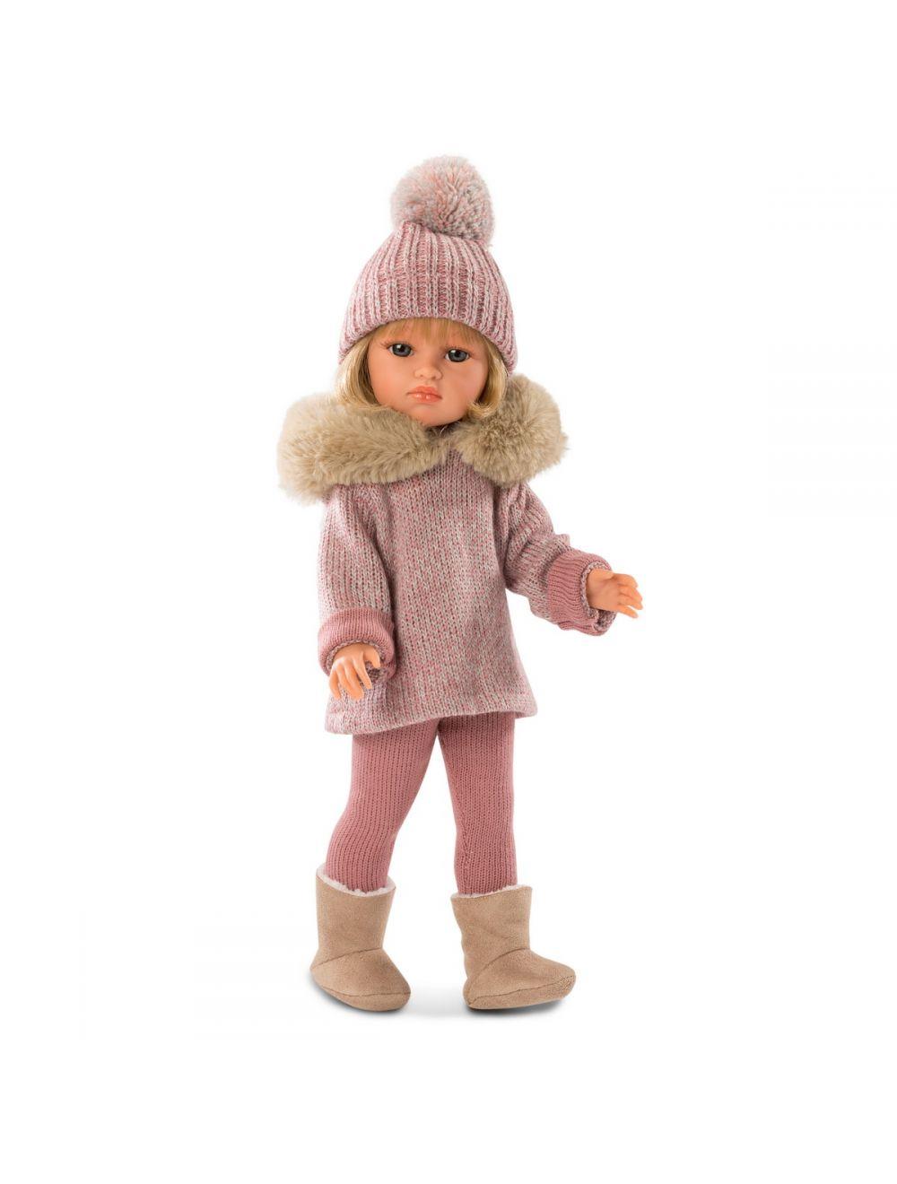 Llorens Lalka Daniela w sweterku z kapturem 37 cm