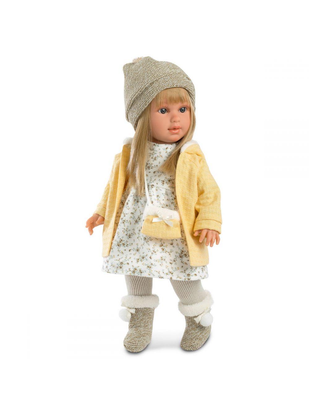 Llorens Lalka Martina w żółtym płaszczu 40 cm