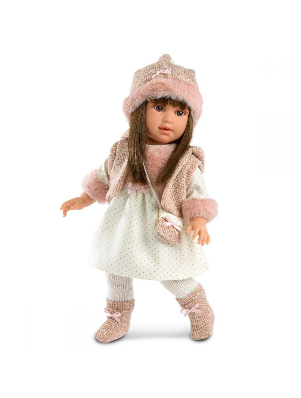 Llorens Lalka Martina w sukience w kropeczki 40 cm