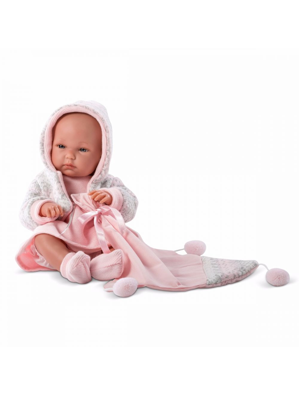 LLORENS Lalka Bimba w różowej sukience 35 cm