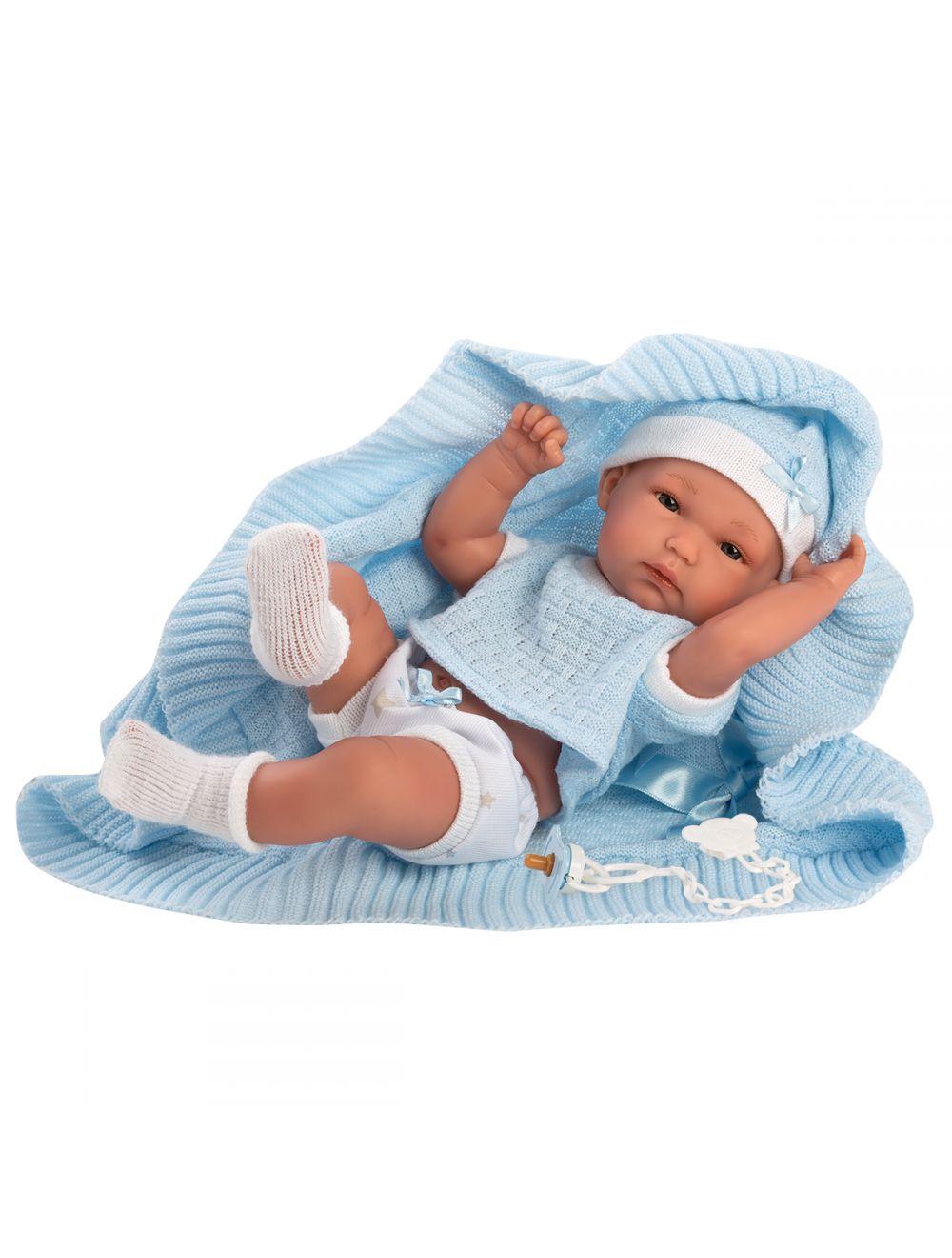 Llorens 63561 Lalka bobas Bimbo 35 cm chłopiec FB