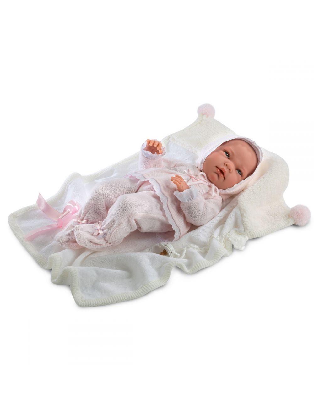 Llorens Noworodek Nica w różowym kostiumie 40 cm