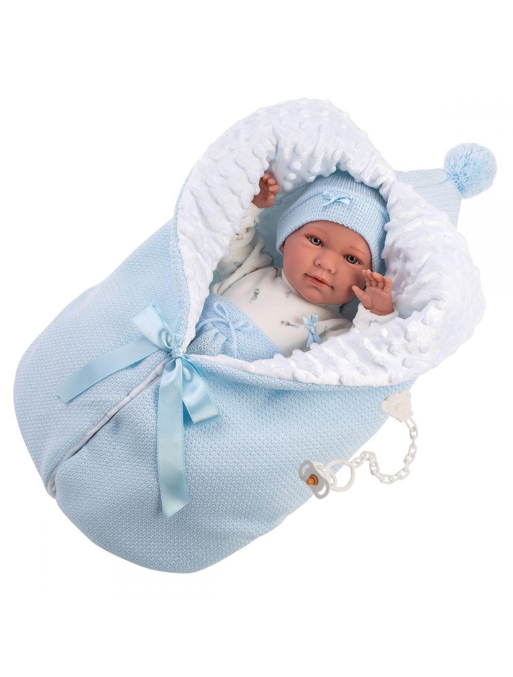 Llorens 74075 Lalka płacząca bobas chłopiec