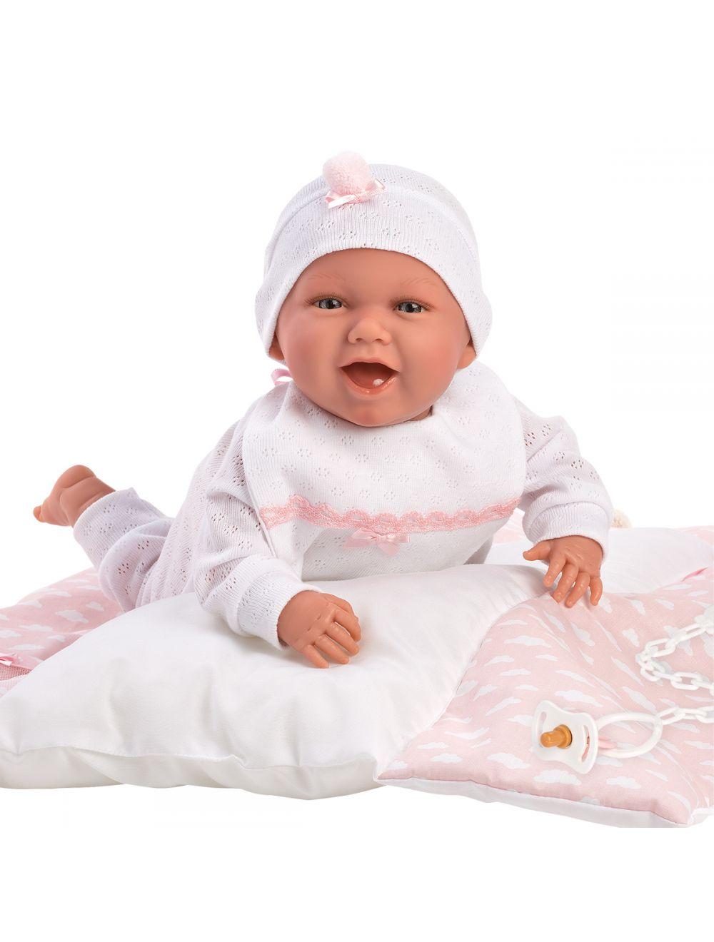 Llorens 74081 Lalka śmiejąca się bobas Mimi