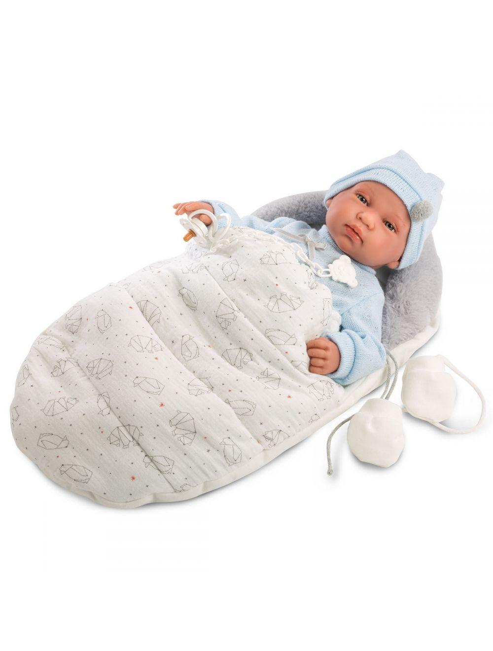 Llorens Bebo noworodek w beciku 44 cm
