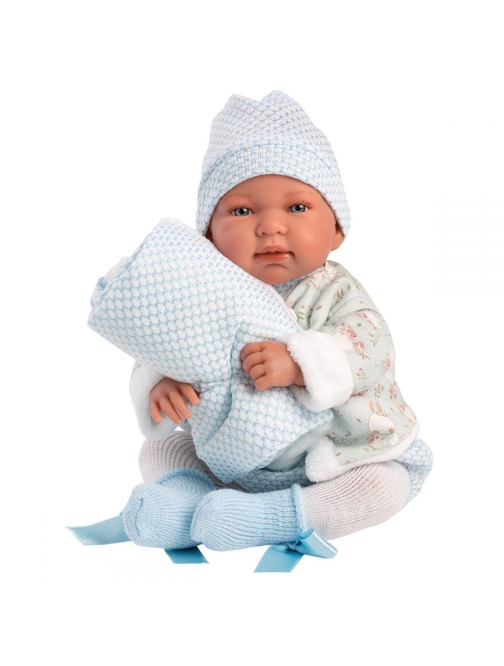 Llorens 84437 Lalka Płacząca bobas Tino  44 cm